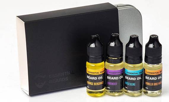 Father's Day Gifts - Scented Beard Oils